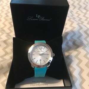 Lucien Piccard Accessories - Lucien Piccard Turquoise Watch