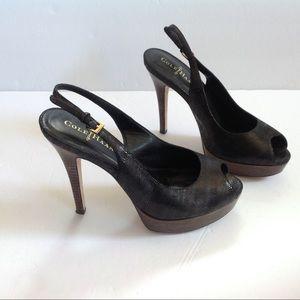 Cole Haan Shoes - Cole Haan Nike Air Snakeskin Platform Stiletto