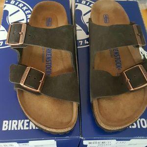 Birkenstock Shoes - NEW BIRKENSTOCK ARIZONA MOCHA SUEDE