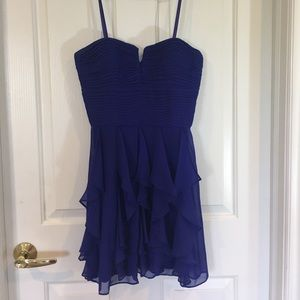 Hailey Logan Dresses & Skirts - Royal Blue Cocktail Homecoming Bridesmaid Size 7/8