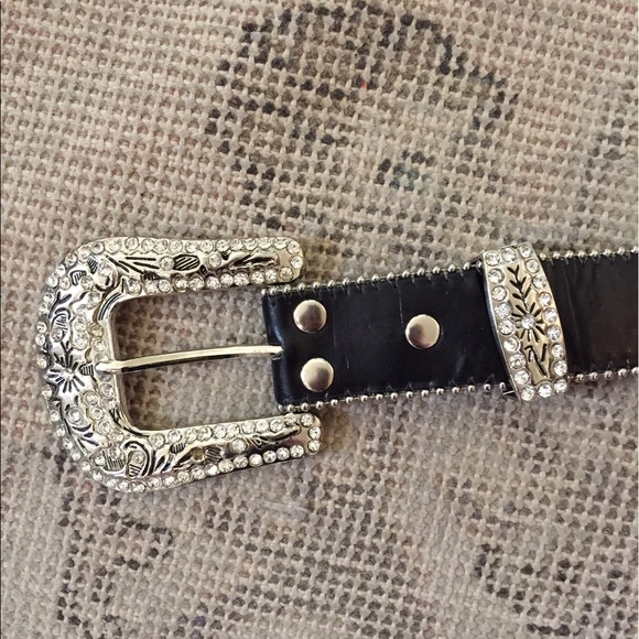 57 off unknown accessories rock n roll studded glam belt from kelli 39 s closet on poshmark. Black Bedroom Furniture Sets. Home Design Ideas
