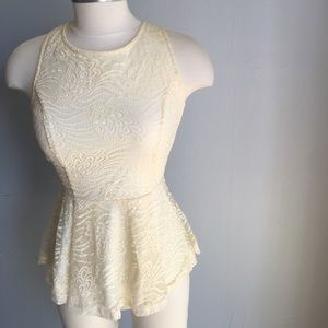 Sugar lips LACE TOP backless (S)