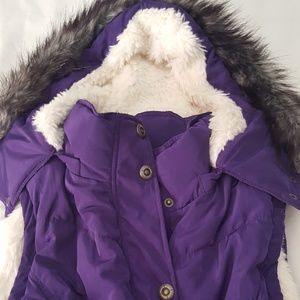 Green tea Jackets & Blazers - PURPLE vest  sleeveless Warm Jacket