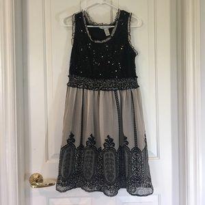 American Rag Dresses & Skirts - Black Sequence &Italian Pattern American Rag Dress