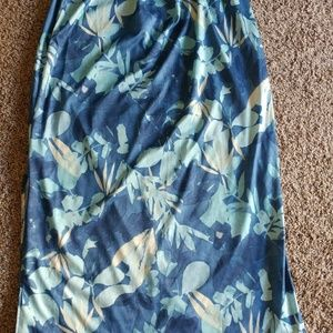 Women's floral skirt plus size 18