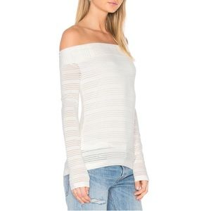 1. State Tops - Off the shoulder top