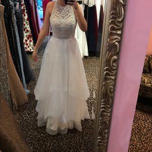 Angela & Alison Dresses & Skirts - WHITE PROM/ FORMAL DRESS