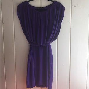 Komarov Dresses & Skirts - Alex and Ava by Komarov Pleated Purple Dress
