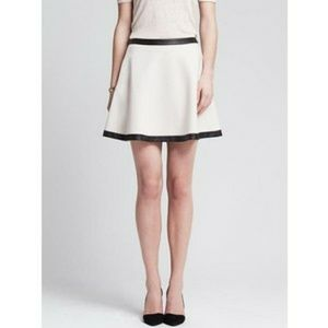 Banana Republic Dresses & Skirts - BR Skirt with Faux Leather Trim