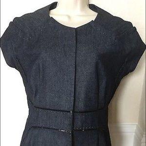 J. Mendel Jackets & Blazers - J. Mendel denim jacket blazer top