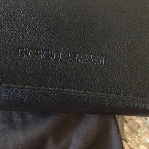 GIORGIO ARMANI SUNGLASS CASE + INTERIOR DUST BAG