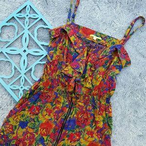 Gianni Bini Dresses & Skirts - {Gianni Bini Colorful Tropical Sleeveless Dress}