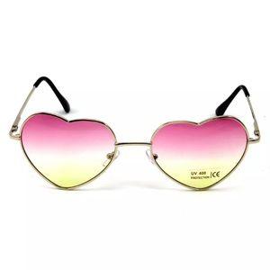 Accessories - Ombré Lense Heart Sunglasses