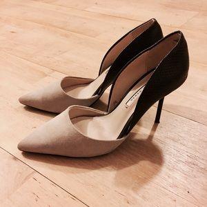 Zara Shoes - Zara Woman Suede Point Toe Heels