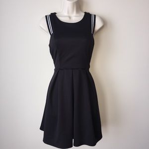 Dresses & Skirts - Black and white fit & flare dress