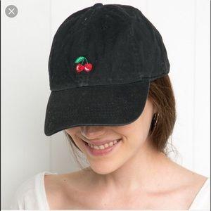 Brandy Melville Cherry Cap