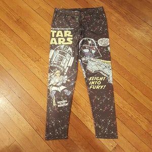 Star Wars Pants - STAR WARS MIGHT FINE XL LEGGINGS R2D2