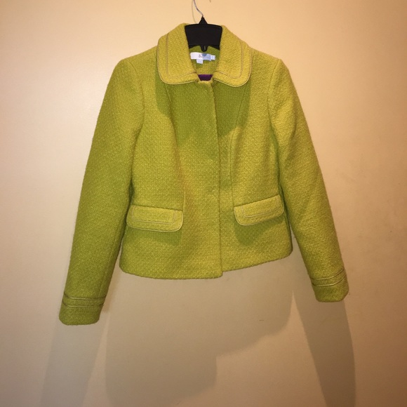 77 off boden jackets blazers boden citron wool norte for Boden yellow coat