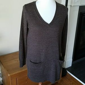 H&M V-neck Tunic Sweater