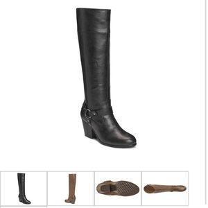 A2 By Aerosoles Shoes - Aerosoles A2 Heel Knee-high Boots Sz 8.5