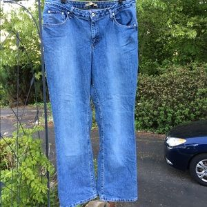 Lee Denim - Lee Riders Slimming Denim Blue Jeans Women's 18W