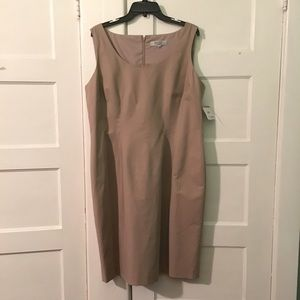 Kasper Dresses & Skirts - NWT Khaki Shift Dress