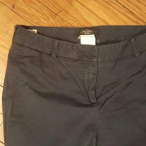 MaxMara Pants - MAXMARA WEEKEND BLUE NAVY CHINOS PANTS