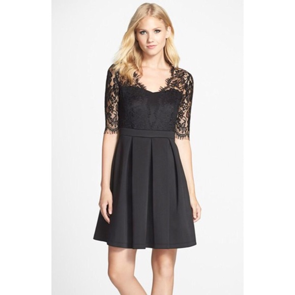 Nordstrom Dresses Gabby Skye Black Semi Formal Dress 10 Poshmark