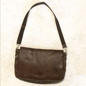 SALECoach Leather Messenger Bag