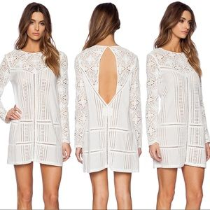 Jetset Diaries Dresses & Skirts - JETSET DIARIES ✨ Undone White Eyelet Dress XS