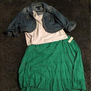 Bobbie Brooks Dresses & Skirts - NWT Layered Summer Skirt