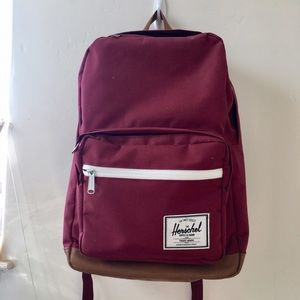 Herschel Supply Company Handbags - Herschel Maroon/burgundy Pop Quiz Backpack