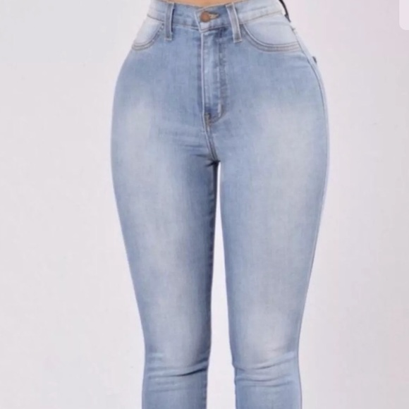 fashion nova jeans size guide