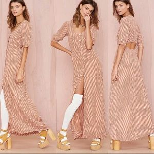 For Love and Lemons Dresses & Skirts - FOR LOVE AND LEMONS 🍋 Montana Cropped Maxi Dress