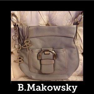 b. makowsky Handbags - 🦋B. Makowsky🦋Pebbled Leather Cross BodyBag🦋