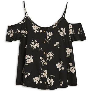 primark Tops - Floral Cold Shoulder Blouse