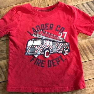 Jelly Beans Other - Little Boys Toddle Fire Truck T Shirt 3T
