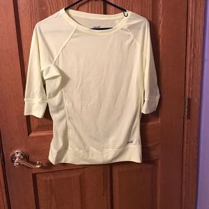 Avia Tops - Size small- yellow work out top
