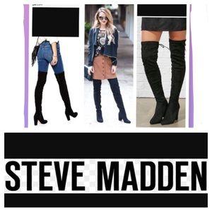 Steve Madden Shoes - Steve Madden Black NORRI boots size 7.5
