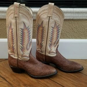 Tony Lama Shoes - Leather Cowgirl Boots