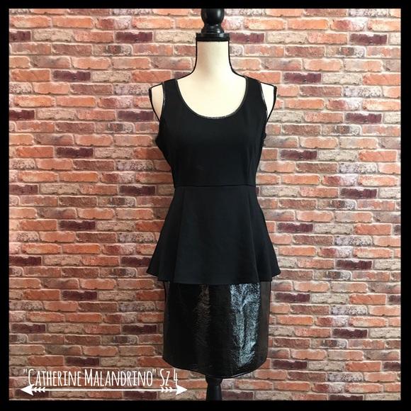 f80668d5 Catherine Malandrino Dresses | Nwt Peplum Dress | Poshmark