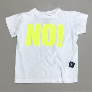 nununu Other - Nununu Organic Neon Yellow NO! Tee