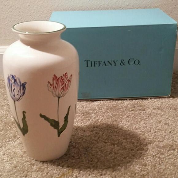 Tiffany Co Other Gorgeous Vintage Tiffany Co Tulips Vase Poshmark