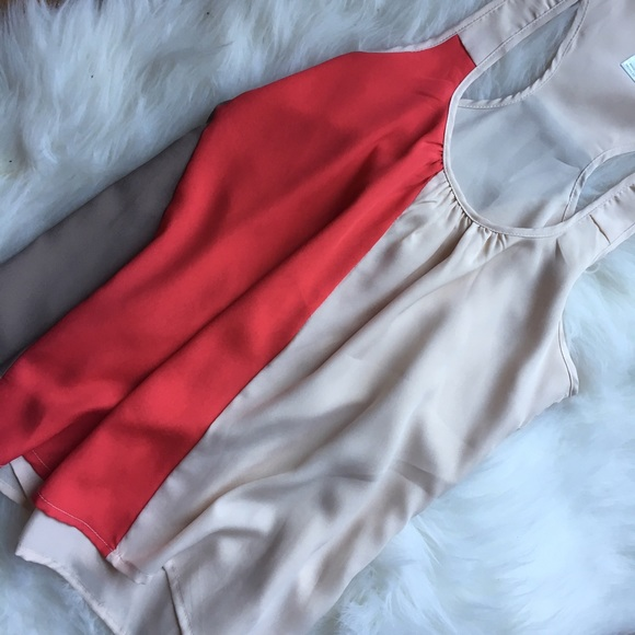 Tops - color block top size S, M