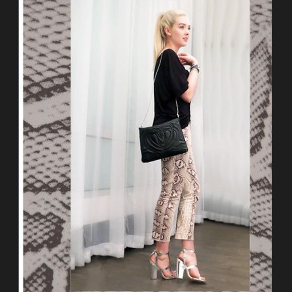 b51430a12f Zara snakeskin print trousers pants size small