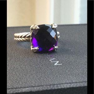 David Yurman Jewelry - ❤️ 24 HR MOTHERS DAY SALE❤️Yurman Amethyst Ring-7