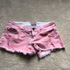 Hot Kiss Pants - Hot Kiss Pink Shorts