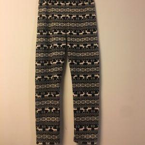 Pants - Fleece Pattern jogger/sweatpants