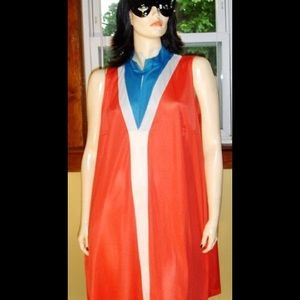 Vintage Other - WONDER WOMAN WANNA-BE VTG 70s VF Gown K-O-O-L!!!