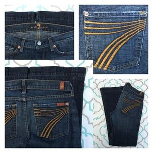7 For All Mankind Denim - 💙👖Awesome 7FAM 🍊 7's Dojo Jeans💙👖27 3/4 29""